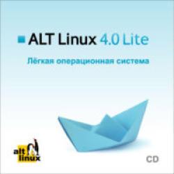 Системные требования ALT Linux 4.0 Lite