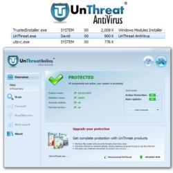 Системные требования UnThreat Free Antivirus 2014