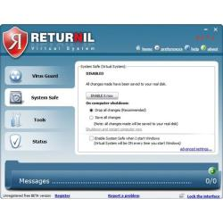 Системные требования Returnil System Safe 2011
