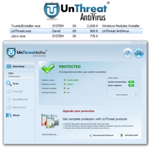 UnThreat Free Antivirus 2014